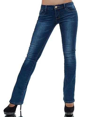 l768-damen-jeans-hose-damenjeans-bootcut-schlag-schlaghose-normaler-bund-farbenblaugrossen38-m