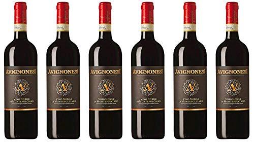 6x Vino Nobile Di Montepulciano 2014 - Weingut Avignonesi, Toscana - Rotwein