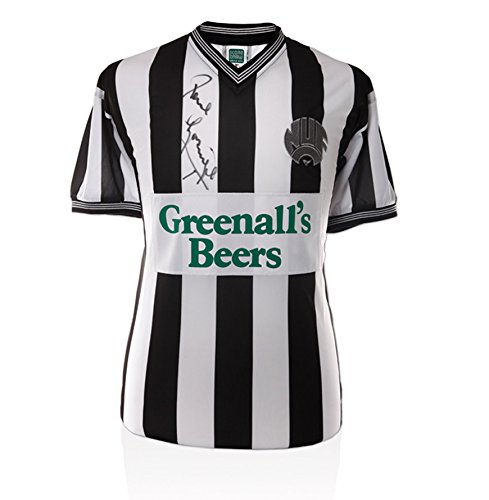 Newcastle-Shirt-Signed-By-Paul-Gascoigne