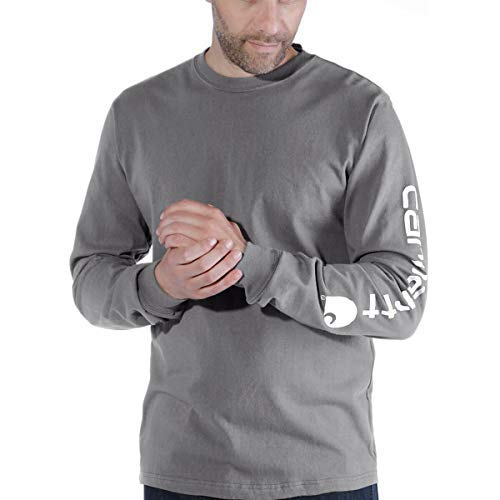 Carhartt. EK231. CHR. S008Sleeve Logo T-Shirt, Größe XXL, anthrazit
