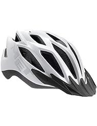MET Fahrradhelm Crossover Matt, White, 52-59 cm, 3HELM86UNBX