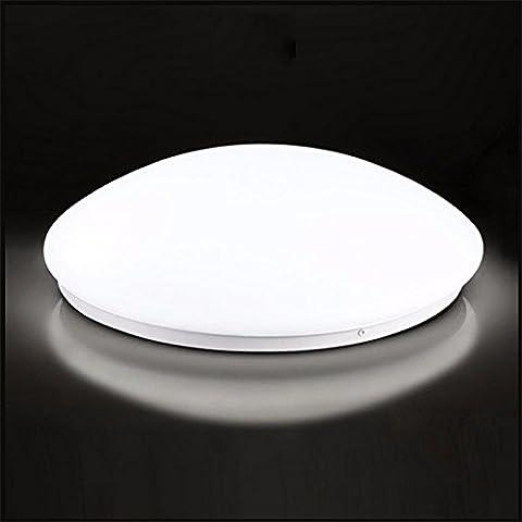Lampe led sound control, corridor accueil lampe à induction intelligente, d'une chambre, d'une lampe radar, lampe lampe de plafond,21cm