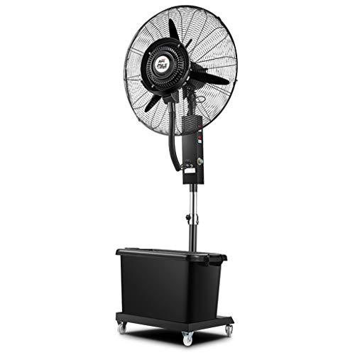 Niebla De Enfriamiento del Ventilador De Pedestal, Humidificador En Aerosol | Ventilador Oscilante Vertical...