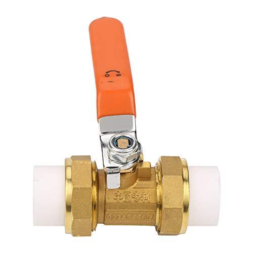 Messing Kugelhahn 3/4-Zoll-BSP DN20 1.6MPa Ball Valve Absperrventil Mit Doppeltem PPR-Heißschmelzanschluß für Wasseranwendungen -