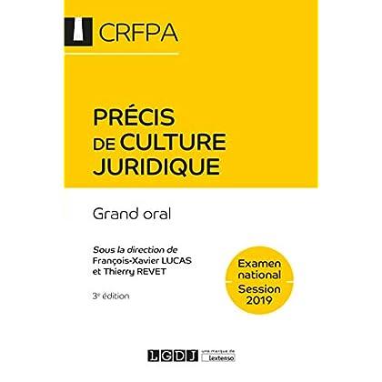 Précis de culture juridique : Grand oral