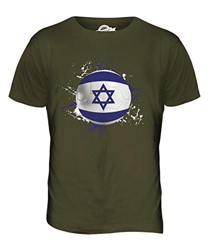 CandyMix Israel Fußball Herren T Shirt Khaki Grün