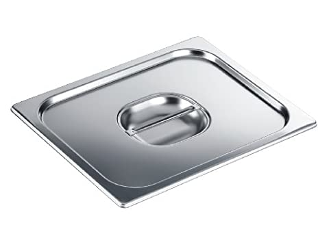 Miele DGD Lid GN 1/2Lid for Steamer Bowl/Stainless Steel Cover for Closed Garbehälter