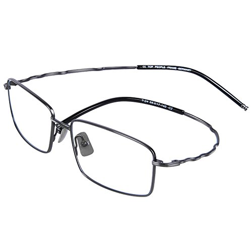 Myopic glasses frame Pure titanium ultra-light material Men's glasses…