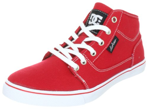 DC Shoes Bristol MID Womens Shoe D0303342, Damen Sneaker, Rot (Athletic Red/White ART), EU 42.5 (UK 8.5) (US 10.5) (Dc Athletic Shoes Sneakers)