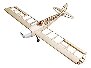 Jamara- 006147-Space Walker 1200 mm CNC Lasercut Kit de construcción Avion RC, Color Madera (6147)