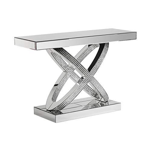 ch design mobles nacher recibidores modernos de cristal consola orbitas 120x40x80
