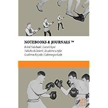 Carnet Ligné A6 Notebooks & Journals, Boxe (Collection Vintage), Pocket: Couverture souple (10.16 x 15.24 cm)(Carnet de Notes, Carnet de Voyage, Cahier de Texte)