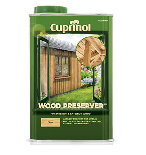 CUPRNOL 5083486 Wood Preserver Clear (Bp) Exterior Woodcare