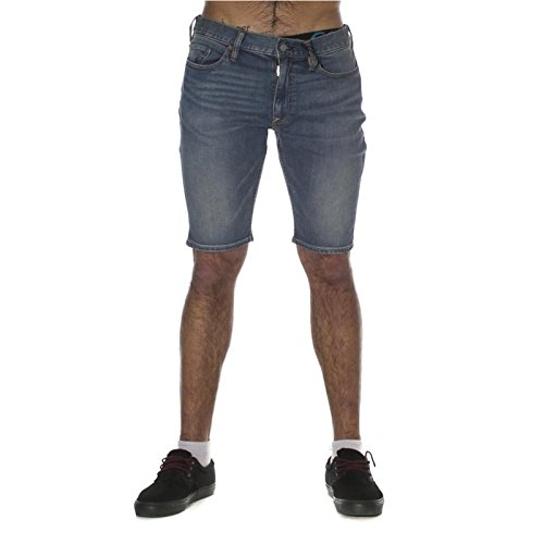 Shorts DC Shoes: Washed Straight Shorts Indigo BL 36
