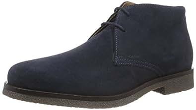 Geox Uomo Claudio, Men's Desert Boots, Blue (Dk Navy), 6.5 UK (40 EU)