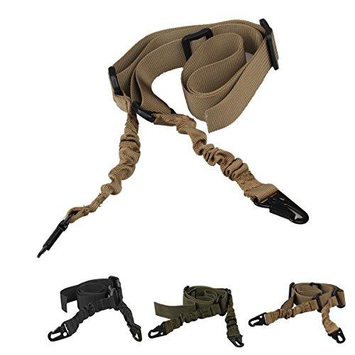 oenbopo verstellbar 2Zwei Point Tactical Rifle Sling Airsoft Paintball Jagd Gun Gurt Nylon