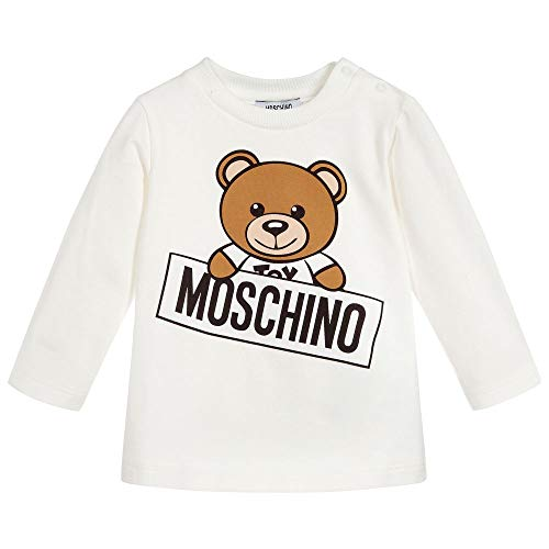 Moschino t-shirt in cotone, 12/18, cluod