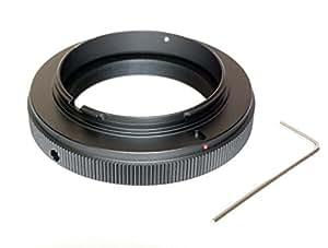T2-Objectif télescope pour Sony Alpha un support Adaptateur série A mount (compatible avec tous les appareils photo reflex numériques inclus a77 a33 a390 a580, etc.)