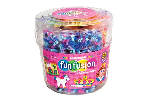 Perler Kunststoff Fun Fusion Fuse Bead bucket-magic Prinzessin