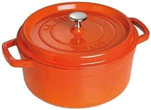 Staub Fonte 1102959 Cocotte Ovale Orange 29 cm