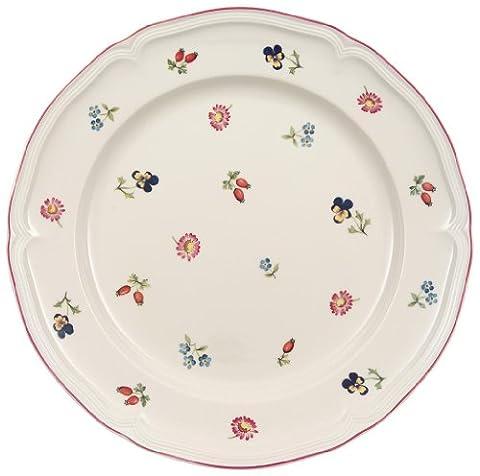 Villeroy & Boch 10-2395-2620 Petite Fleur Speiseteller, Porzellan (Französisch Stil Bett)