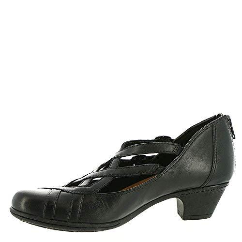 Rockport Donna Perla Mary Jane Scarpe Nere Cag16bk Women's Shoes