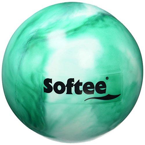 Softee - Palla Ritmica, Stile Madreperla, per Bambini, Colore: Bianco/Verde