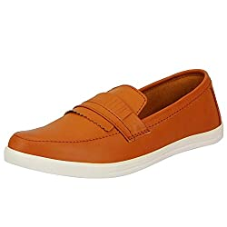 Fausto 1800-43 Tan Mens Loafers