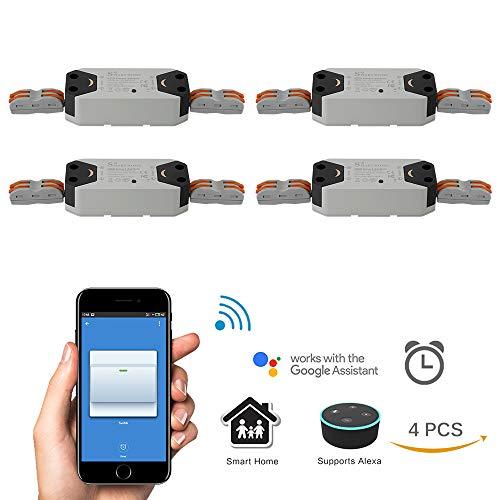 Beleuchtung Zubehör Für Smart Leben App Telefon Fernbedienung Kompatibel Für Alexa Google Assistent Dimmbare Wifi Schalter Uns Stecker Wand-in Smart Switch Licht & Beleuchtung