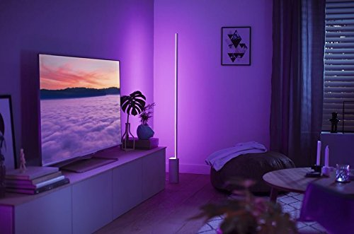 philips hue white and color ambiance led stehleuchte signe dimmbar steuerbar via app. Black Bedroom Furniture Sets. Home Design Ideas