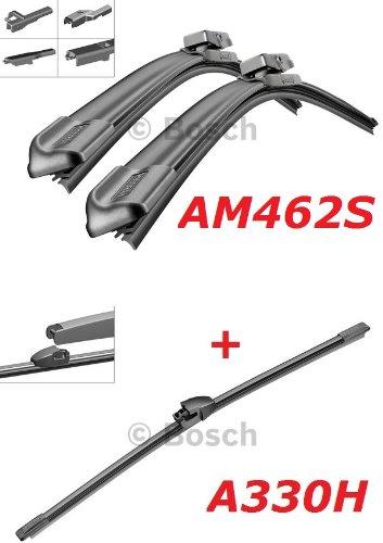Preisvergleich Produktbild Bosch Scheibenwischer Front.- und Heckwischer - Aerotwin AM462S Längen: 600/475mm (3397007462) & A330H Länge: 330mm (3397008006)