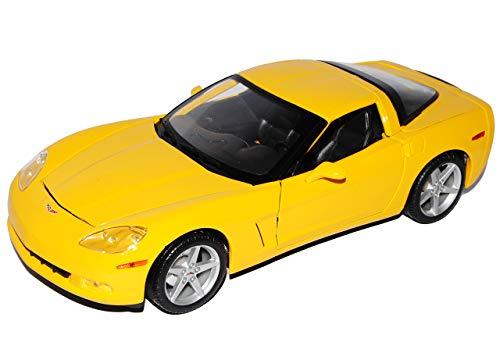 Maisto Chevrolet Chevy Corvette C6 C 6 Coupe Gelb Ab 2005 1/18 Modellauto Modell Auto
