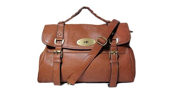 9d8f0cf19897 ... promo code for a shu brown tan satchel handbag mulberry alexa style  amazon shoes bags f9e0f