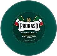 Proraso Sapone Ciotola Verde Rinfrescante, 150ml