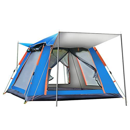 Spfree Pop Up Zelt, Automatisches Outdoor-Zelt für 4 Personen Schnellöffnungs Wurfzelt mit Tragetasche