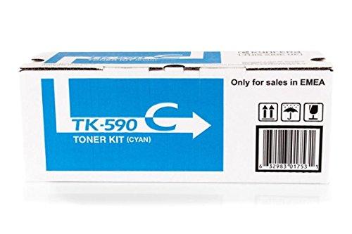Preisvergleich Produktbild Kyocera ECOSYS P 6026 cdn (TK-590 C / 1T02KVCNL0) - original - Toner cyan - 5.000 Seiten