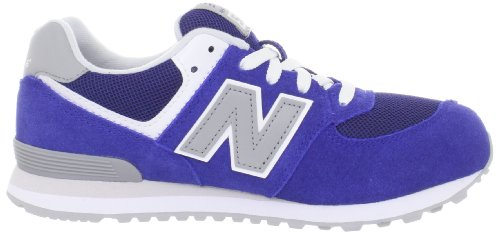 New Balance 574 Series GS KL574RBG Blue Youths Trainers Blau