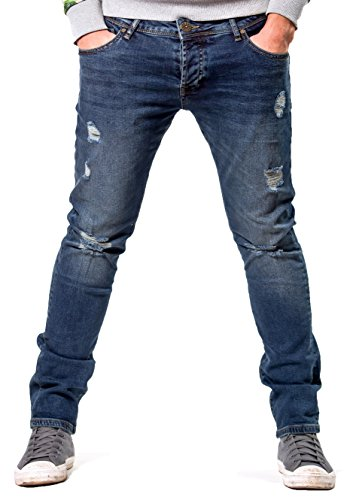 2Y Premium -  Jeans  - Uomo Blau 29W x 32L