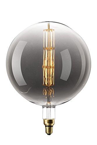 Filament LED Lamp Manhattan XXL Titanium Ø300mm E27 8W
