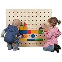 SINA Kugelspiel für unsere Kleinsten Brettspiel Geschicklichkeit NEU aus Holz Volkskunst