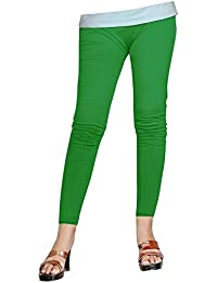 b14021e428593 Naisargee Super Soft Multicolor Silk Poly Cotton Ankle length Leggings 33  Colors for Women's and Girl's