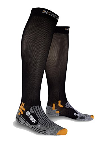 X-Socks Funktionssocken Run Energizer, Black, 35-38