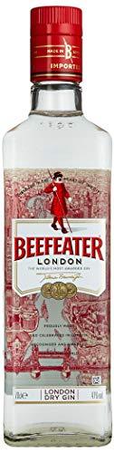 Beefeater London Dry Gin - Edler und hochwertiger Premium-Wacholderschnaps, nach London Dry Gin-Art hergestellt - 1 x 0,7 L