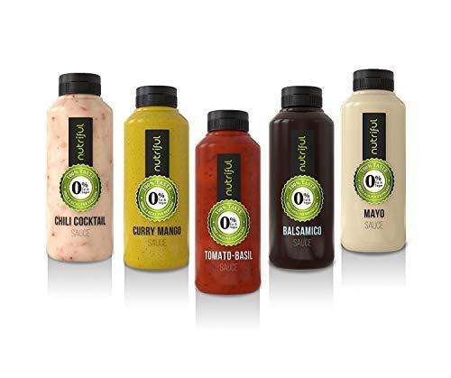 Nutriful Saucen, 5er-Pack, komplett hCG-Diät-geeignet
