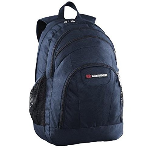 caribee-rhine-school-bag-backpack-casual-daypack-50-cm-40-liters-navy-blue