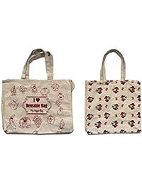 5e56fe78dc55 Cotton Reusable Vegetable Bag (6 Pouches) and Shoulder Bag