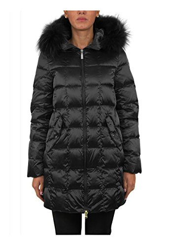 Geospirit Donna Trench Woman Jacket Beekman Fur GED0552 Col.NERO, 44