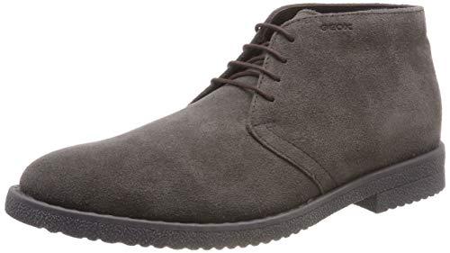 Geox u brandled b, stivali desert boots uomo, marrone (mud c6372), 42 eu