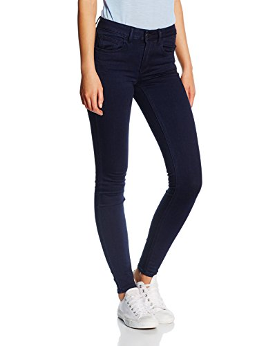 VILA CLOTHES Damen Hose Vicommit Rw 5p Ju-noos Blau (Dark Midnight Denim)