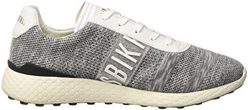 Bikkembergs Strik-er 896, Sneakers basses homme Grigio (Grey/white)